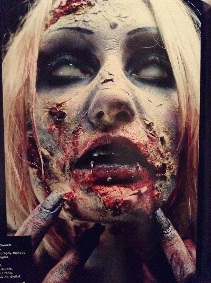 awesome halloween zombie fx make up - Zombies Pictures For Halloween