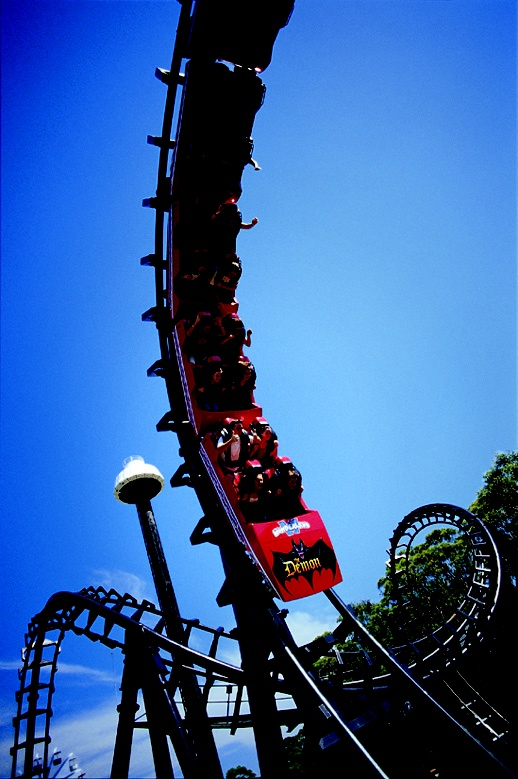 The Demon from Australia's Wonderland / Wonderland Sydney - got stuck on this once... winched down and back on it :) Great times