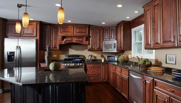 Woodland Cabinetry Style Provincial Wood Alder Glaze