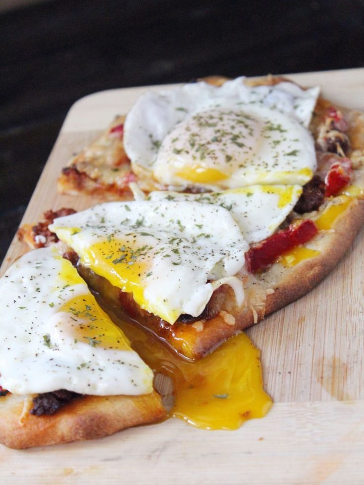 Chorizo and Egg Breakfast Flatbread2