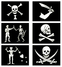 Famous Pirate Flags