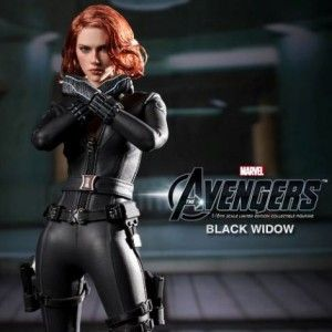 Black Widow Action Figure Looks Almost RealPhotos Gallery, Collection Figurines, Cosplay Black Widow, Hot Toys, Avengers Cosplay, Avengers Black Widow, Action Figures, Black Widow Figurines, The Avengers