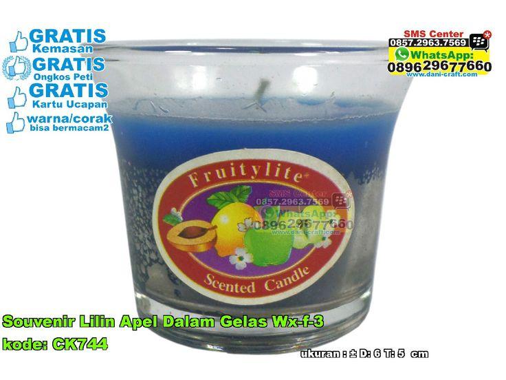 Souvenir Lilin Apel Dalam Gelas Wxf3 WA/ SMS Center: 0857.2963.7569 Telp/SMS/WA: 0896.296.77.660 (Tri) 0819.0403.4240 (XL) 0813.2660.1110 (Telkomsel) 0857 4384 2114 (Indosat) PIN BBM: 59E 8C2 B6. #lilin #lilinaromaterapi #lilinulangtahun #lilinmurahyogyakarta #souvenirlilingelasmurah #juallilinterapimurah #suvenirlilinmurah #souvenirlilinmurahjogja #souvenirgelaslilinmurah #souvenirlilinmurahdisurabaya #gelasCantik #gelasMurah #SouvenirLilin #HargaLilin #souvenirUnik #SouvenirPernikahanMurah