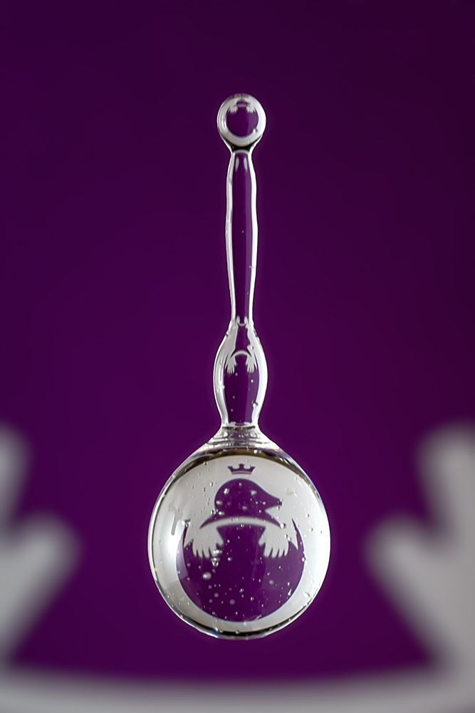 Mole Empire in a water drop by Markus Reugels