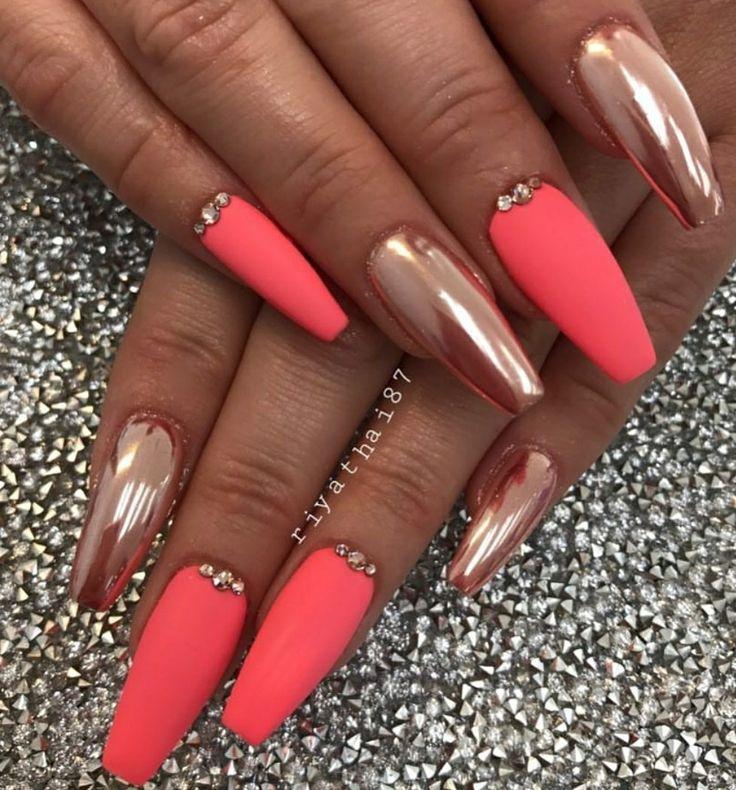25+ best ideas about Chrome nails on Pinterest