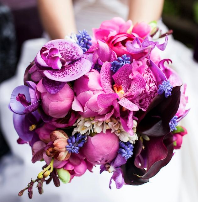 fab purplesBridal Bouquets, Shades Of Purple, Wedding Bouquets, Wedding Blog, Purple Wedding, Radiant Orchids, Wedding Flower, Purple Bouquets, Orchids Bouquets