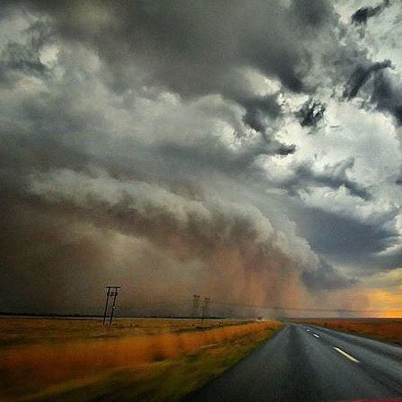 Into the eye of the storm ⚡️ @ivan.sonnekus captured this image during a storm on the road to Bloemfontein.   #viewfromtheroad #barloworldtransport #meetsouthafrica #southafrica #roadlovers #openroad #ontheroad #beautifuldestinations #roadshots  #fromwhereisit #thisissouthafrica #southafricaletsme #shotleft #wanderlust #exploremore #southafricathroughmyeyes #bloemfontein