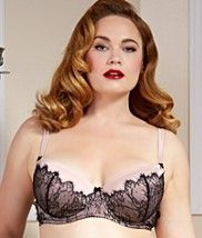 Dita Von Teese Man Catcher Full Figure Bra - lingerie, white, bridal, white, outfits, school girl lingerie *ad