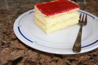 «Diplomatici» итальянские пирожные с кондитерским кремом