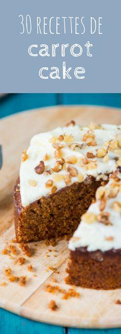 Healthy, vegan, sans gluten : 30 recettes faciles de carrot cake !
