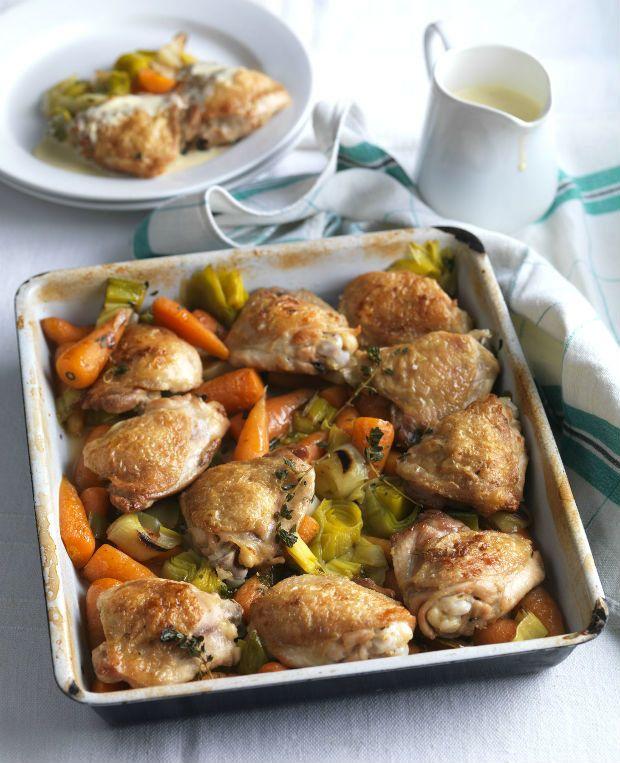 Farmářské dušené kuře, Foto: isifa.com