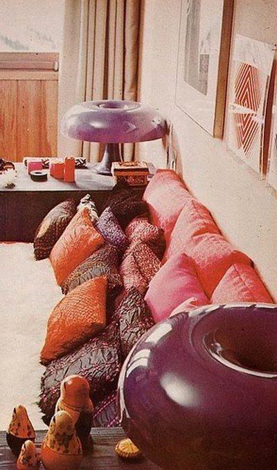 1970s interior design.