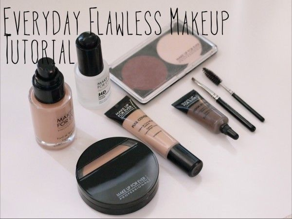 Tips on a getting a flawless face with makeup.