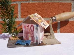 Geldgeschenk für Hausbau