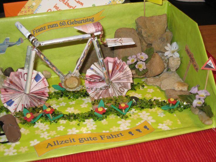 die besten 25 fahrrad aus geldscheinen ideen auf pinterest hochzeitsgeschenk basteln fahrrad. Black Bedroom Furniture Sets. Home Design Ideas