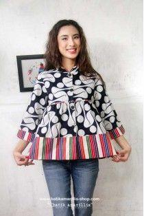 batik amarillis's romancia jacket New