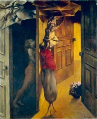 Dorothea Tanning (Interior): Canvas 18, Tans Interiors, Surrealism Art, Artists Dorothea Tans, Intérieur Interiors, Artists Inspiration, Surrealism Spaces, Oils On Canvas