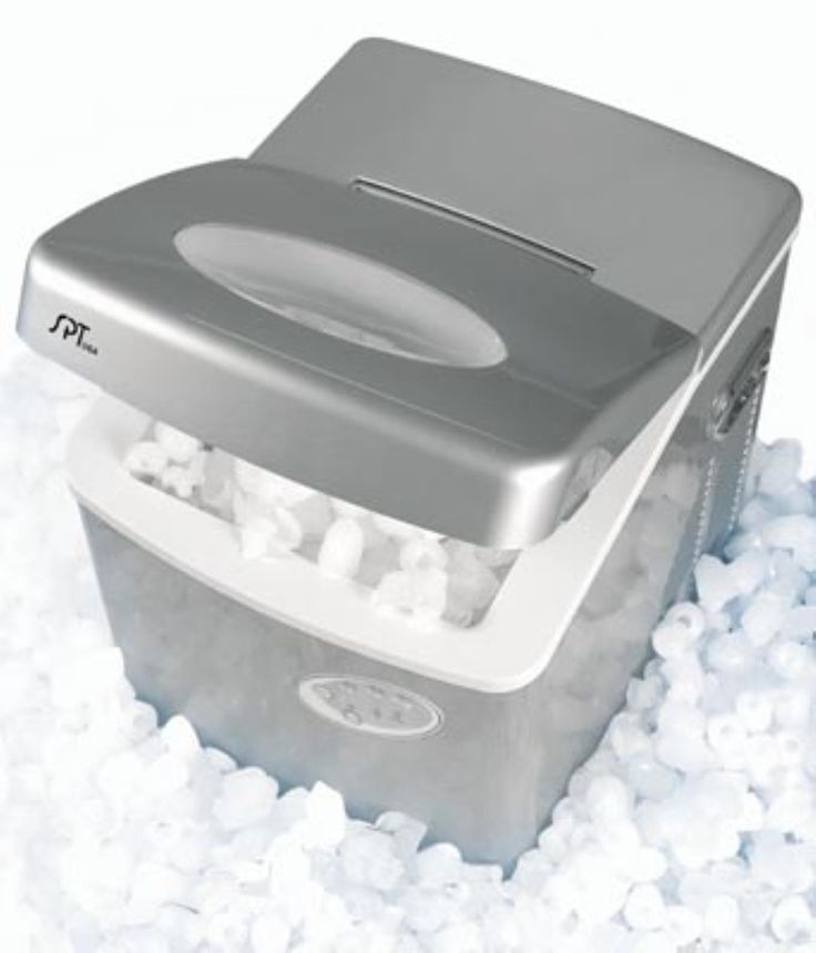 Sunpentown IM-100 Portable Ice Maker With 1.2 Gallon Reservoir