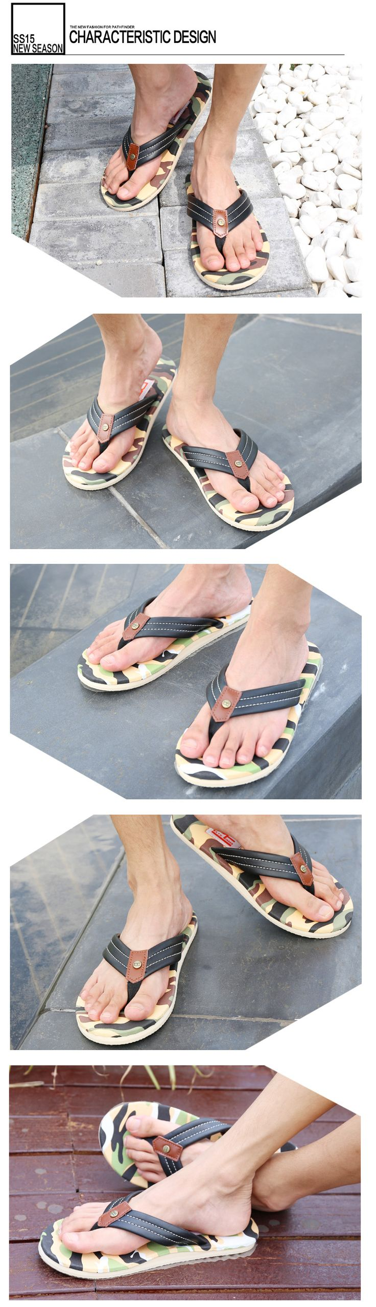 Aliexpress.com : Buy Pathfinder Durable Mens Summer Walking Flip Flops Non Slip Men's Comfortable Flat Beach Slippers Sandals Sandalias Hombre 2016 from Reliable slipper house suppliers on Pathfinder PathFinder store