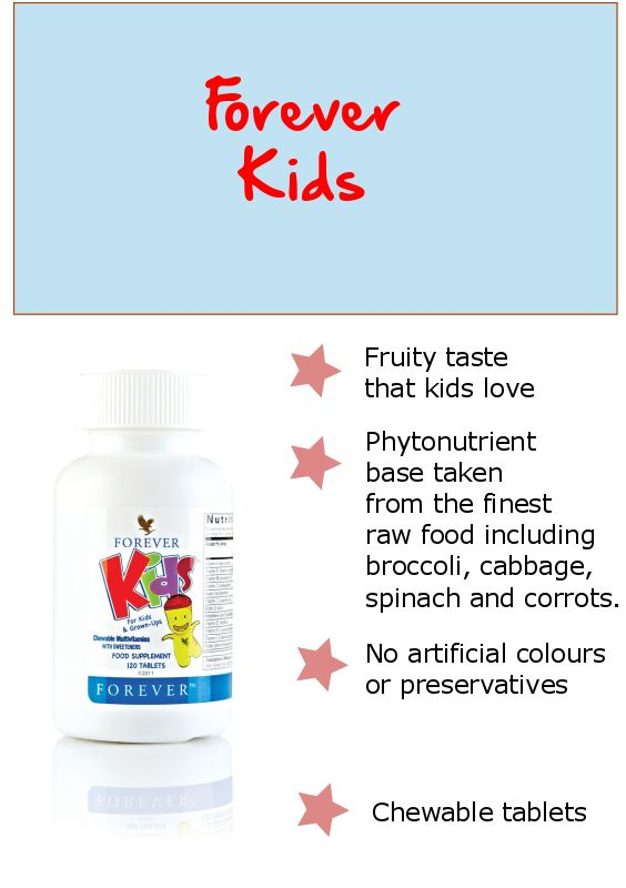 Give your kids the nutrients they need each day with forever kids chewable multi vitamins, They are fun and delicous and all kids love them