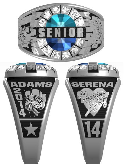 25 best class rings images on pinterest class ring ring for Jewelry stores effingham il