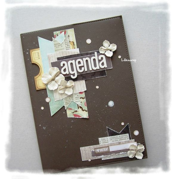 idea for cover agenda ♥