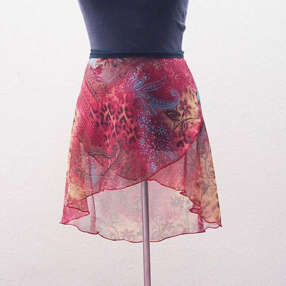 Size M  adult ballet skirt  Wrap skirt  Resort Wear