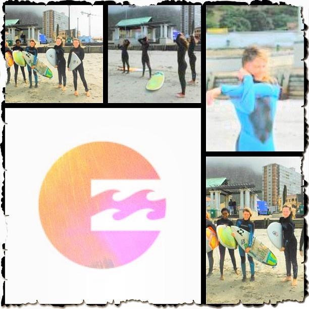 @Tarryn Chudleigh girl surf session with @billabonggirls_za Tarryn - @surfshack_capetown- #webstagram