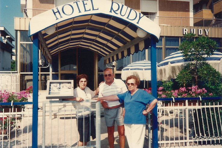 The old #entrance of the #HotelRudyCervia