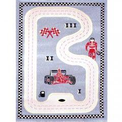 Racer Grey Playmat for Kids fun