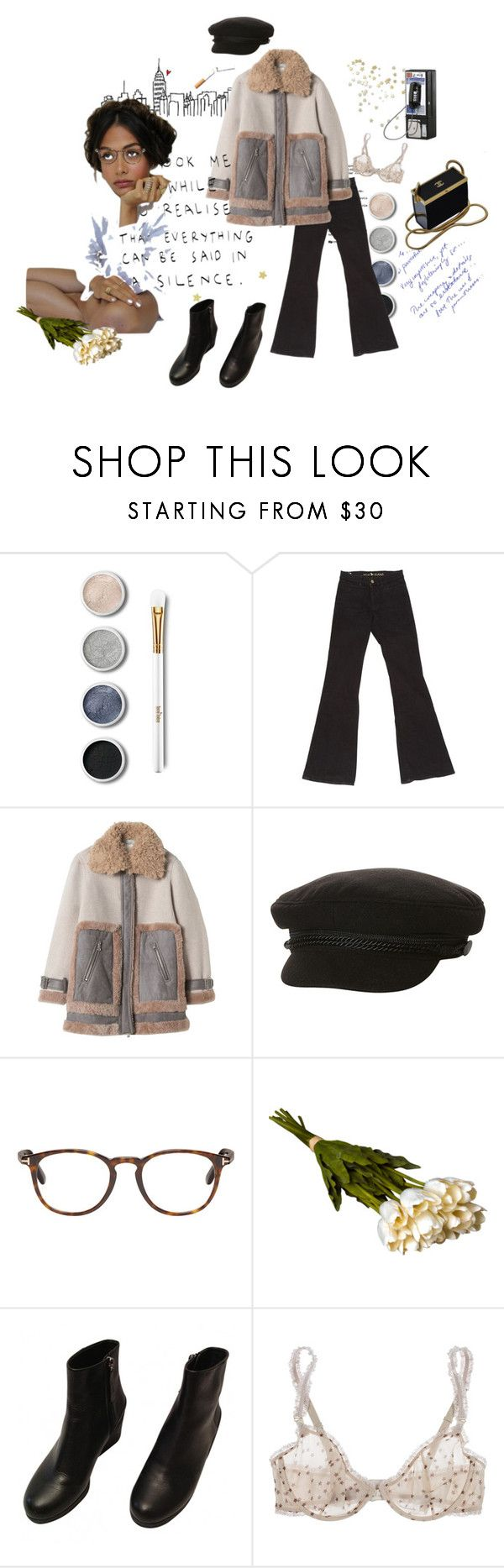"""""""silence"""" by flowerchild710 ❤ liked on Polyvore featuring Terre Mère, M.i.h Jeans, Rebecca Taylor, Billabong, Tom Ford, Crate and Barrel, Jil Sander, STELLA McCARTNEY and Chanel"""