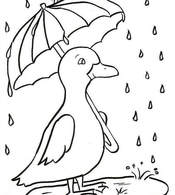 - Cute Rainy Season Coloring Pages Spring Coloring Pages, Free Coloring  Pages, Free Coloring Pictures