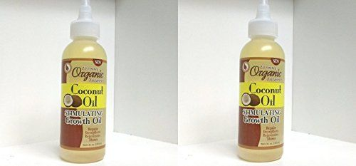 Ultimate Organic Coconut Oil Stimulating Growth Oil 4oz (2 Pack) -- Details can be found by clicking on the image.
