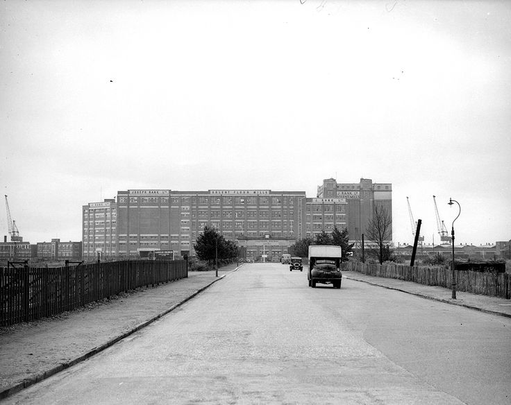 A FAMILIAR landmark on the Southampton skyline for the last 79 years has been the Solent Flour Mills, now operated by the Rank Hovis Company.