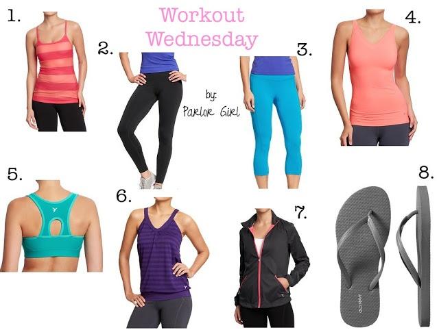 workout gear.