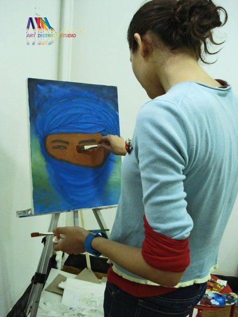 Atelier de pictura in ulei – incepatori/avansati | Atelier 7culori