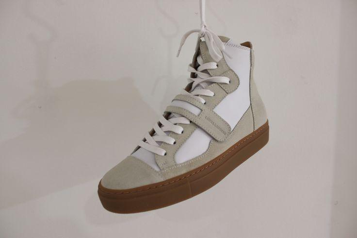 High top Laura Laurens sneakers / White