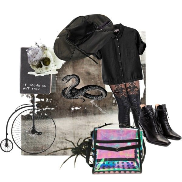 Seattle by lemon-pirating-sea-raptor on Polyvore featuring Margaret Howell, John Fluevog, Maison Margiela and Macabre Gadgets