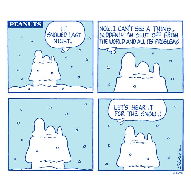 Let's hear it for the snow!!                                                                                                                                                                                 More