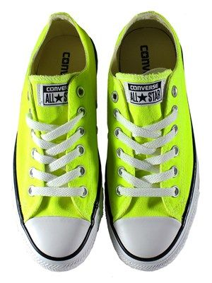 Converse Chuck Taylor All Star Electric Yellow Ox Trainers