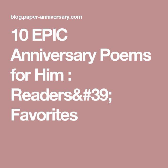 best 25 anniversary poems for him ideas on pinterest