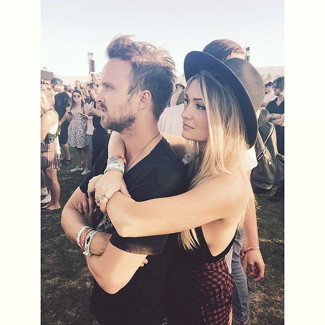 In honor of Aaron Paul and Lauren Parsekian's two-year wedding anniversary on May 26, we've rounded up some of their sweetest moments together. Take a look back at their adorable romance!