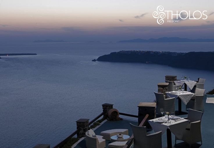 Dine under the #stars, with the mystical scenery taking your breath away! Only at #Santorini