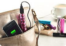 Not the most powerful but fast charging in emergencies and small enough to carry all the time. HALO 2800mAh Pocket Power Charger for Cellphones & Electronics — QVC.com