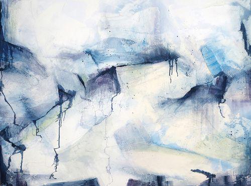 "Winter  .  Oil on canvas  .  30"" x 40"" . 2013"