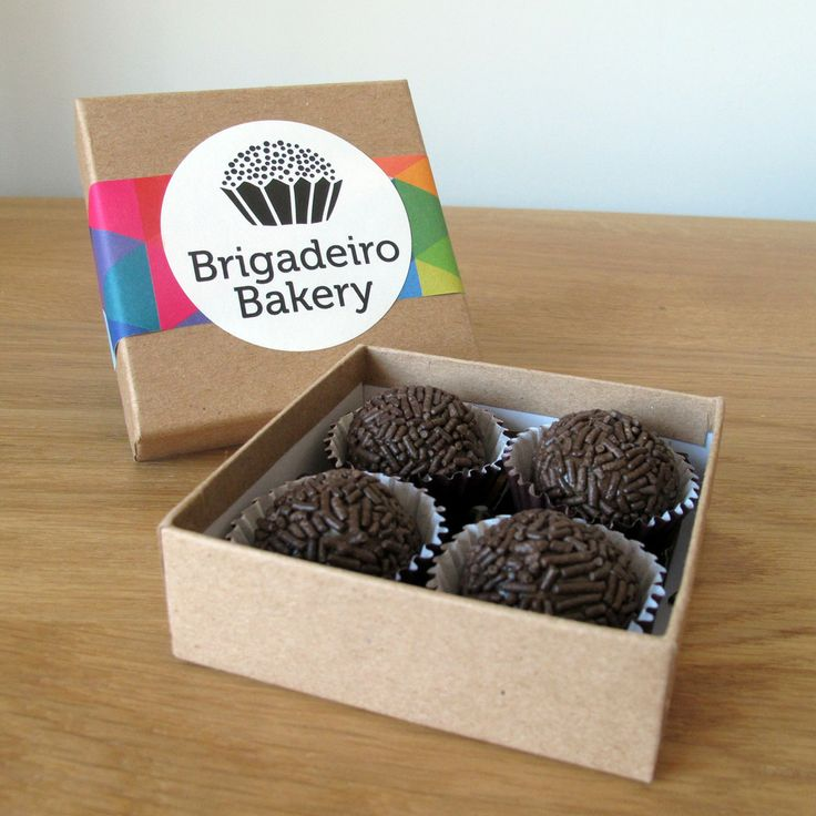 Single Flavor | 4 Brigadeiros Box