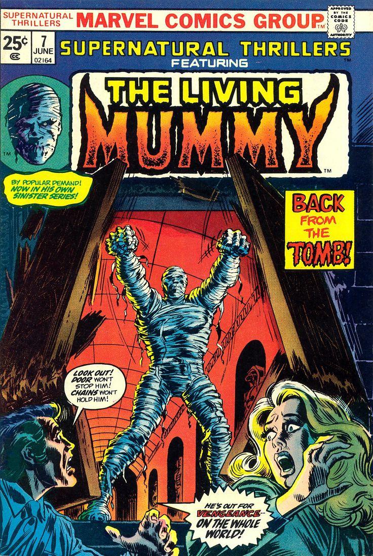 "The Living Mummy"""