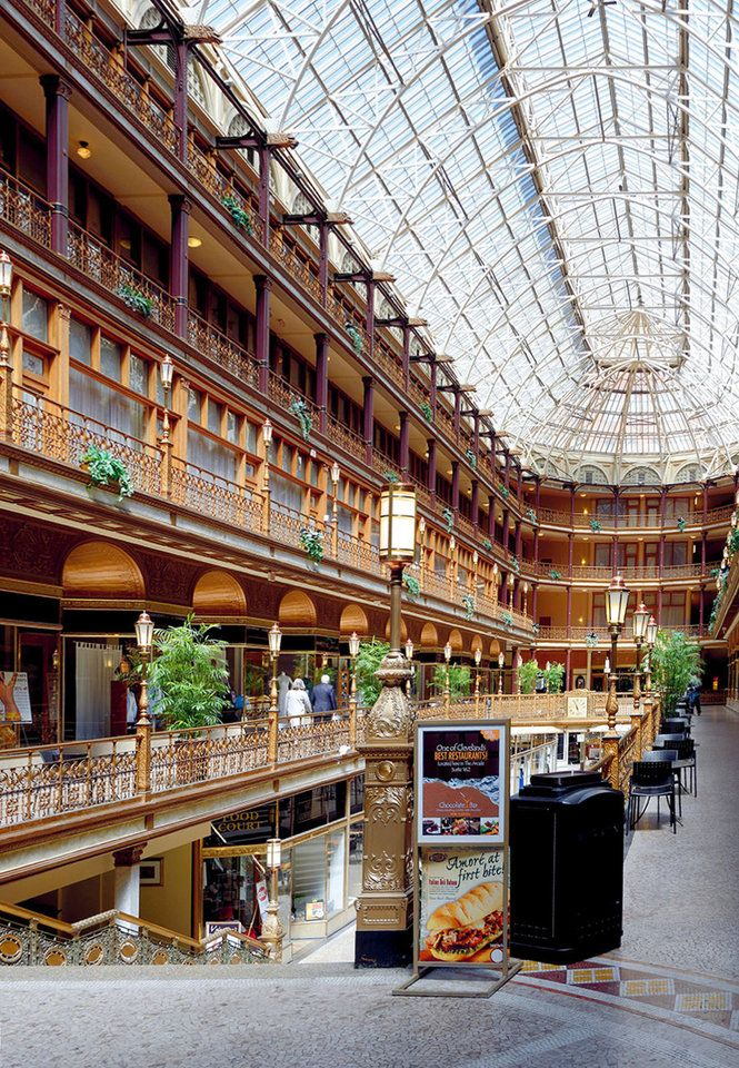 Arcade - Cleveland OHIO one of my favorite places.  Absolutely beautiful.
