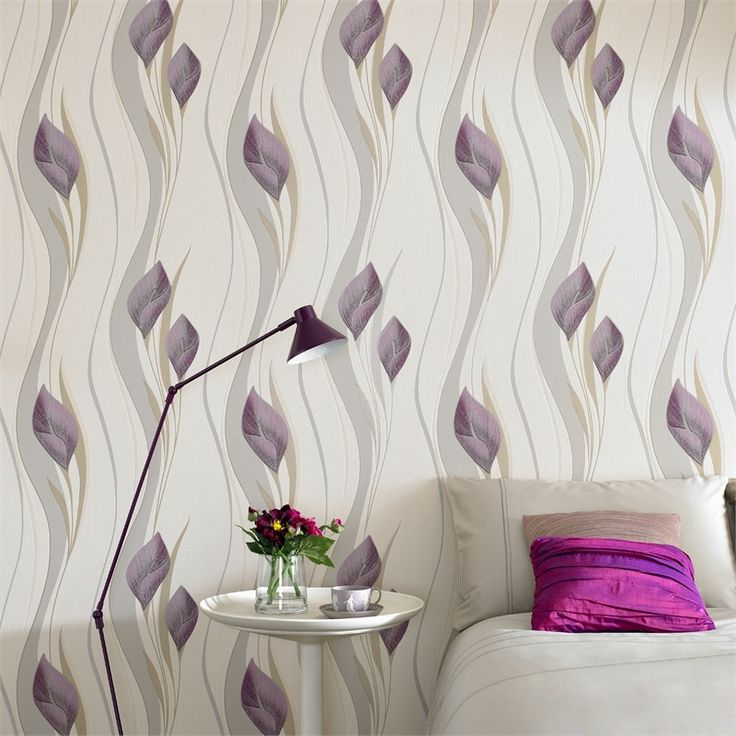 Superfresco Easy 52cm x 10m Peace Plum And Cream Wallpaper #lilly #softtones #metallics