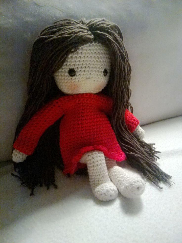 Ma poupée au crochet (Modèle Isabelle Kessedjian)